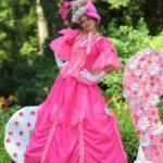 Ходулист Девушка в розовом