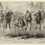 Ходулисты Америки 18 век