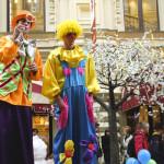 Ходулисты клоуны